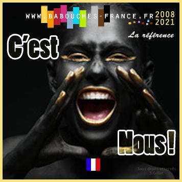 La babouche en France